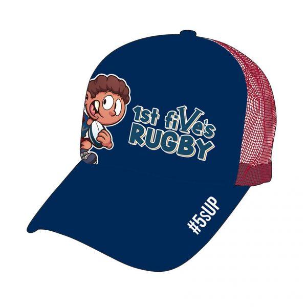 Kids Rugby Trucker Hat