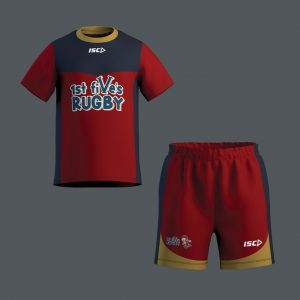 Rugby Jersey and Shorts