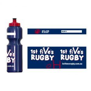 Kids Rugby Water Bottle
