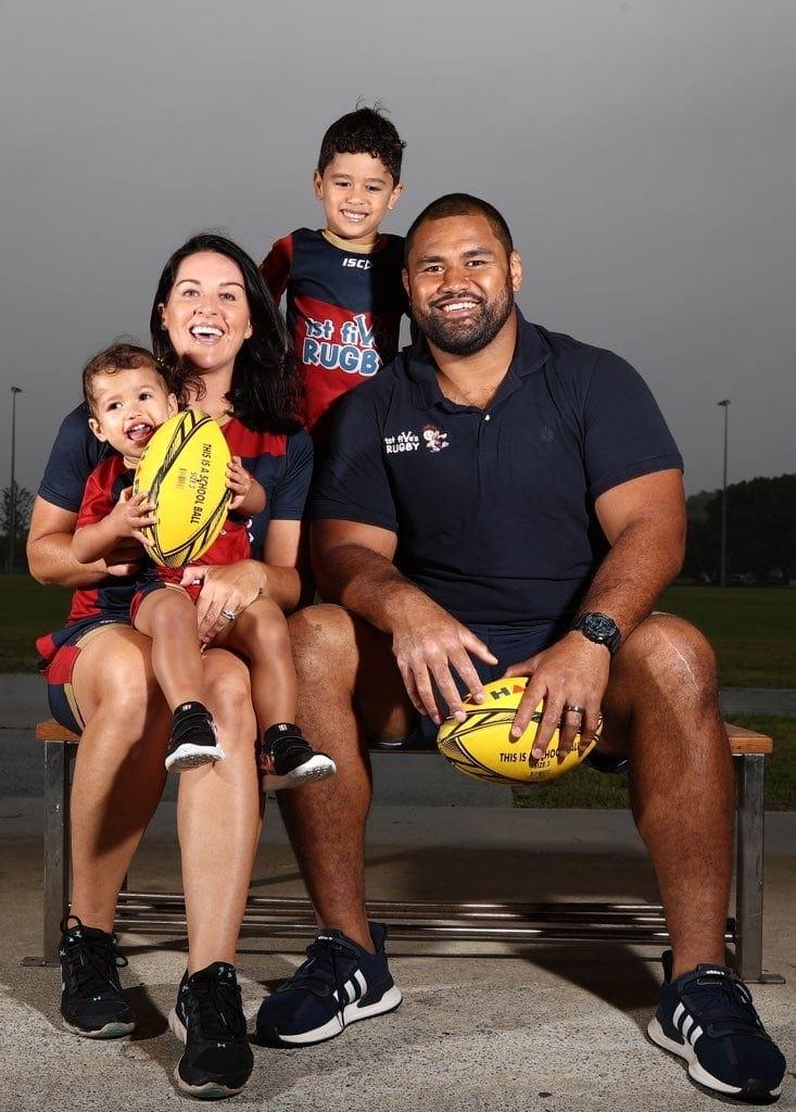 Salesi Manu Rugby Family