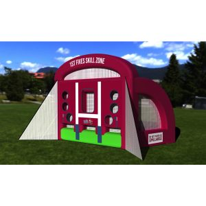 Gold Coast Rugby Inflatable Skills Zone Hire